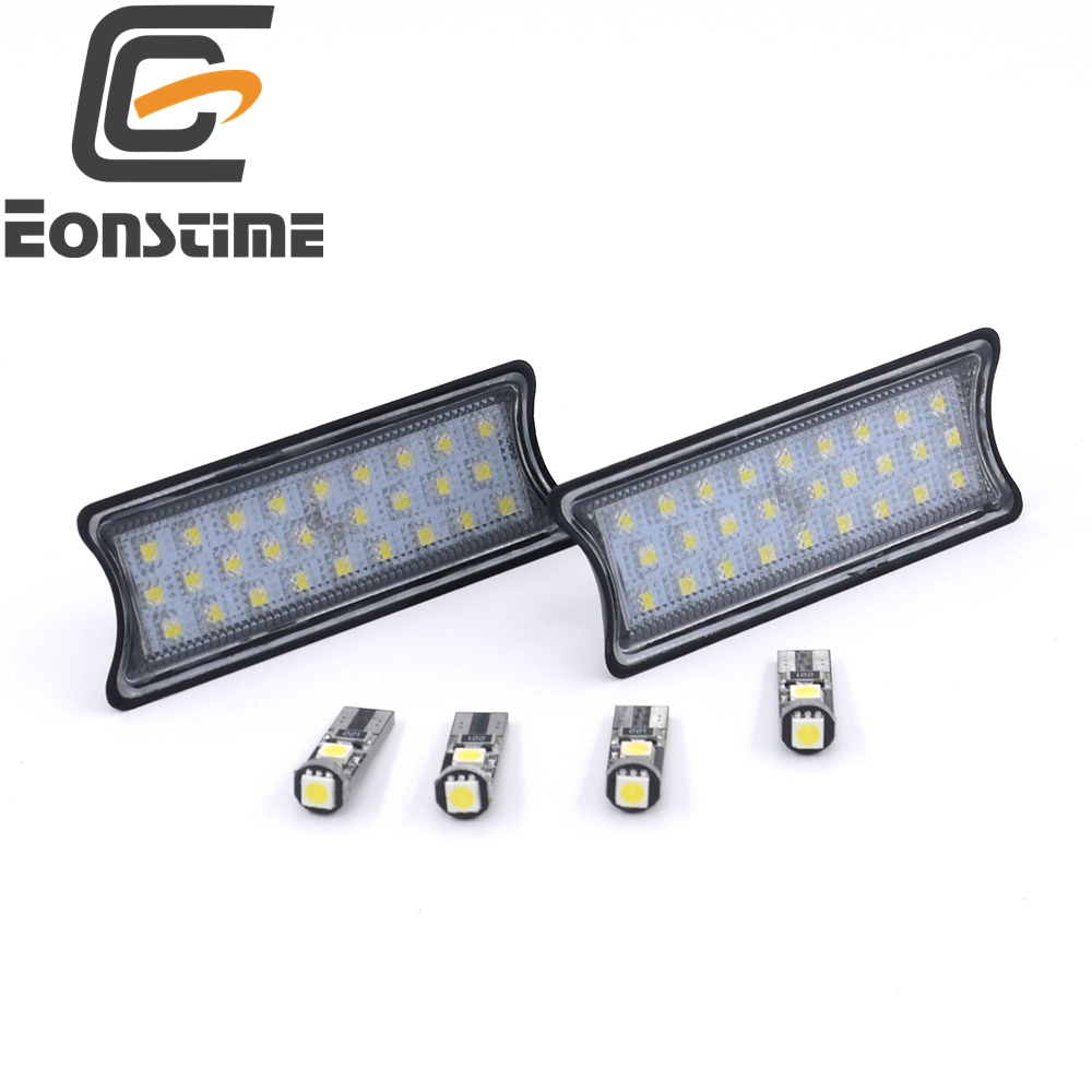 Eonstime 6pcs LED Interior Dome Overhead Reading Light Lamp Kit for BMW E65 E66 E67 E68 2002-2008 E60 E61 04-09 E81 E82 E87 6pcs smd led interior dome overhead reading light lamp kit for bmw e53 x5