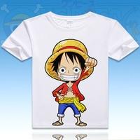 RTXBQU 2017 ONE PIECE Luffy Chopper Robin T Shirt Anime Japanese Famous Animation Novelty Summer