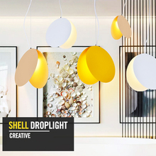 110V-220V Post-modern contracted Nordic creative personality Pendant Lights LED round bar restaurant cafe droplight with bedroom