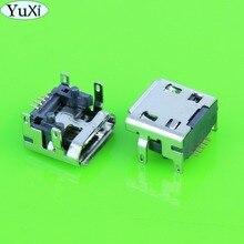 YuXi 300 ชิ้น/ล็อต 5pin ประเภท B สำหรับ JBL Charge 3 FLIP 3 ลำโพงบลูทูธ Micro mini USB ชาร์จพอร์ตแจ็คซ็อกเก็ต Connector repair