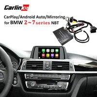 Carlinkit Реверсивный Камера Интерфейс модуль для BMW 2/3/4/5/7 серии с НБТ Системы с Carplay зеркального отображения
