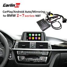 Carlinkit Реверсивный Камера Интерфейс модуль для BMW 2/3/4/5/7 серии с НБТ Системы с Carplay зеркалирование