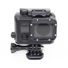 цена на New Underwater Camera Waterproof Case for Gopro Hero 3 45M Diving Housing Case Cover Box Black For Gopro Hero 3 3+ 4 Accessories