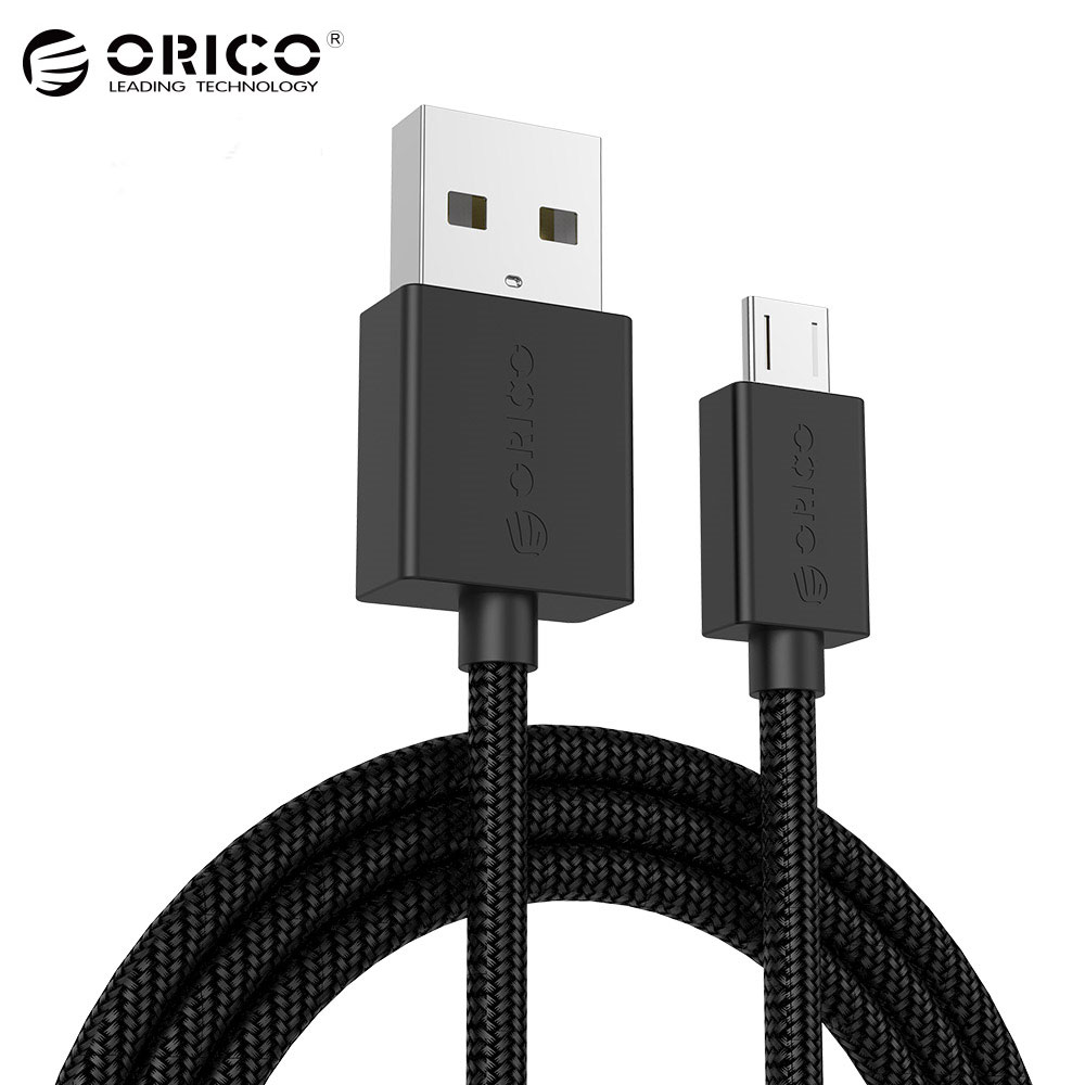 [Wholesale] ORICO Micro USB Fast Charging Data Cable 1.0 Meter Support Max 2A for Android Mobile Phone ...