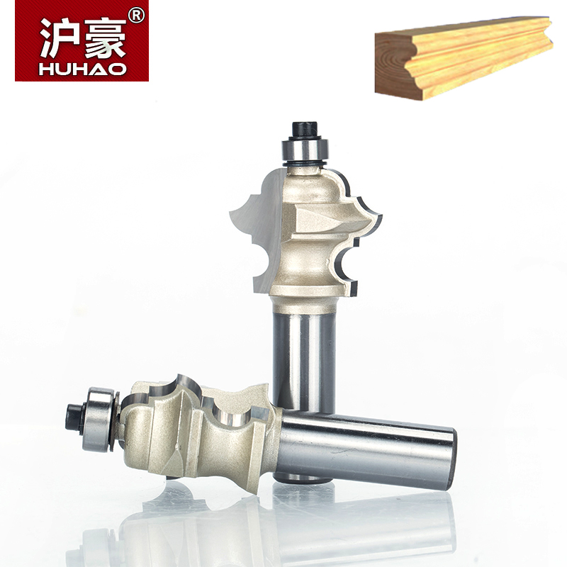 HUHAO 1pc 1/2 Shank Classical Linear Decorative Knife Engraving Bit Magic Woodworking Cutting Tool Carbide Router Bits For Wood huhao 1pcs 1 2 1 4 shank classical router bits for wood tungsten carbide woodworking endmill tools classical mounlding bit