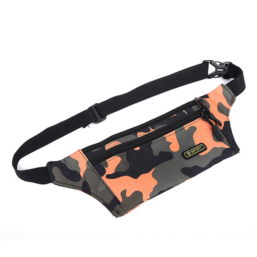 Portable Waist Pack Men Waist Bags Hip Package Casual Fanny Pack Travel Army Waist Mobile Phone Travel Bag