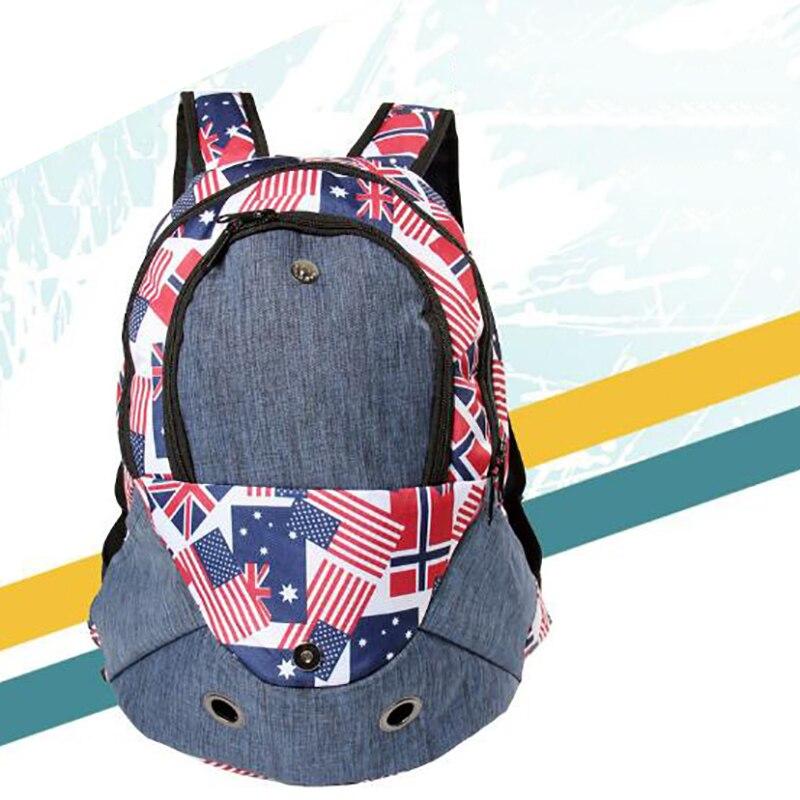 New Fashion Outdoor Pet Backpack Portable Travel Pet Dog Backpack Sport Prints Cloth Pet Dog Carrier