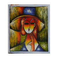 World famous paintings Picasso painting Picasso's abstract painting Picasso abstract woman Hand painting wholesale PFB 001