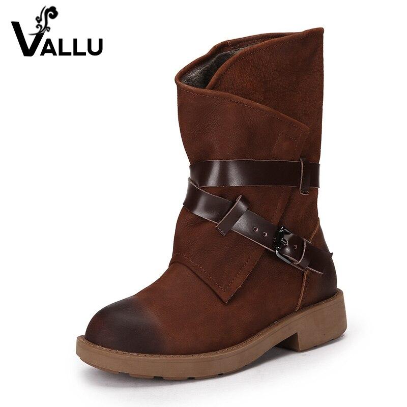 aliexpress buy 2017 winter boots fur buckle