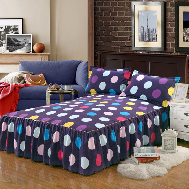 A Bed Skirt Full bed with storage 5c64ed4a23a74