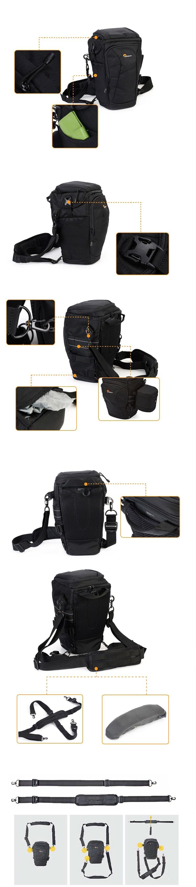 Lowepro Toploader Pro 75 Aw Ii Digital Slr Camera Triangle Shoulder Zoom 45 Black Internal Dimensions295cm178cm16cm Weight105kg