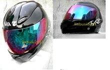 BRAND NEW MASEI JACK DANIEL Negro 802 Cara Llena de La Motocicleta DOT Casco Envío libre!