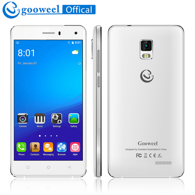 """Бесплатный Флип Чехол Gooweel M13 плюс 4 г смартфон Android 5.1 мобильный телефон 4 ядра 5.0 """"HD экран 8MP Камера GPS сотовый телефон"""