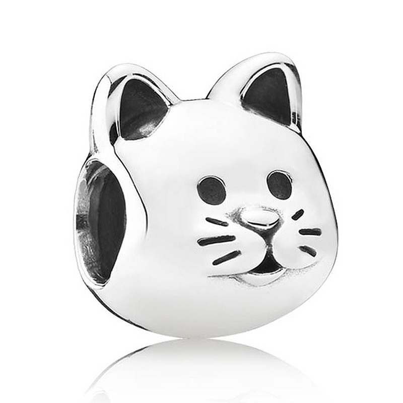 Authentic 925 Sterling Silver Animal Bead Charm European Silver Cat Beads Fit Women Pandora Bracelet Bangle Diy JewelryAuthentic 925 Sterling Silver Animal Bead Charm European Silver Cat Beads Fit Women Pandora Bracelet Bangle Diy Jewelry