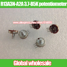 3 pcs R13A3N-A2A 3.7-B5K potenciômetro/70 graus-único potenciômetro conjunta modelo de avião/comprimento do eixo 7 MM X 3.2 MM