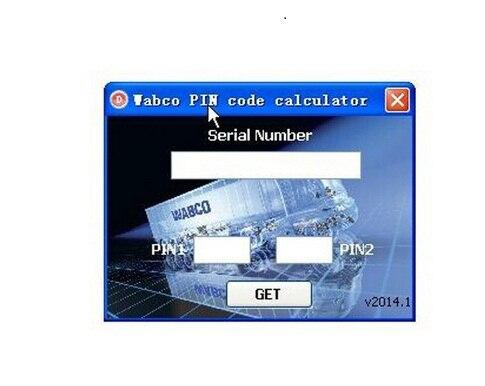 Wabco diagnostico pin wabco generatore di codice pin calcolatrice