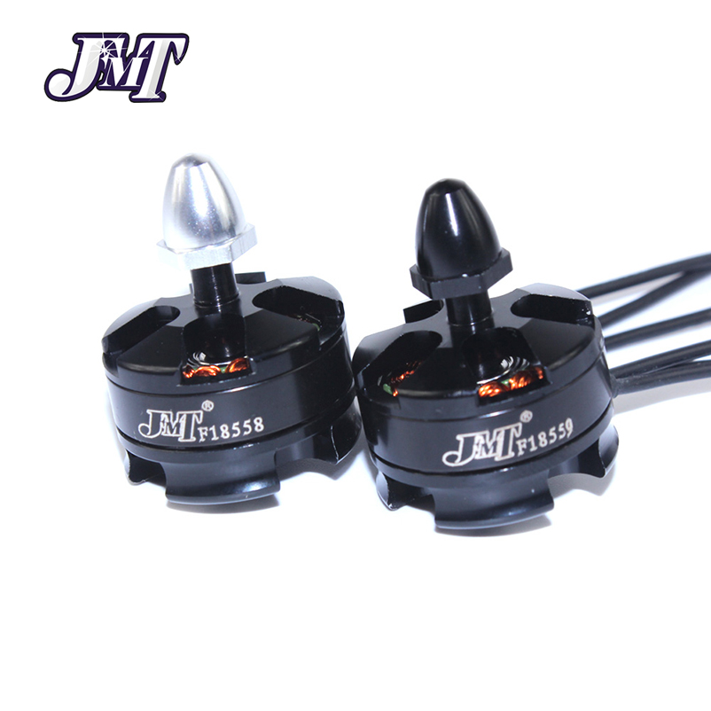 JMT Brushless Motor 4Pcs/Set CW+CCW 2204 2300KV For DIY Mini Multirotor Quadcopter Racing Drone 210 250 270 Robotcat F18558-A dys se1806 2550kv cw ccw brushless motor set