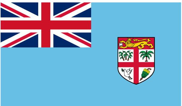 Free shipping 90*150cm The Republic of Fiji Polyester Flag Banner Viti Viji
