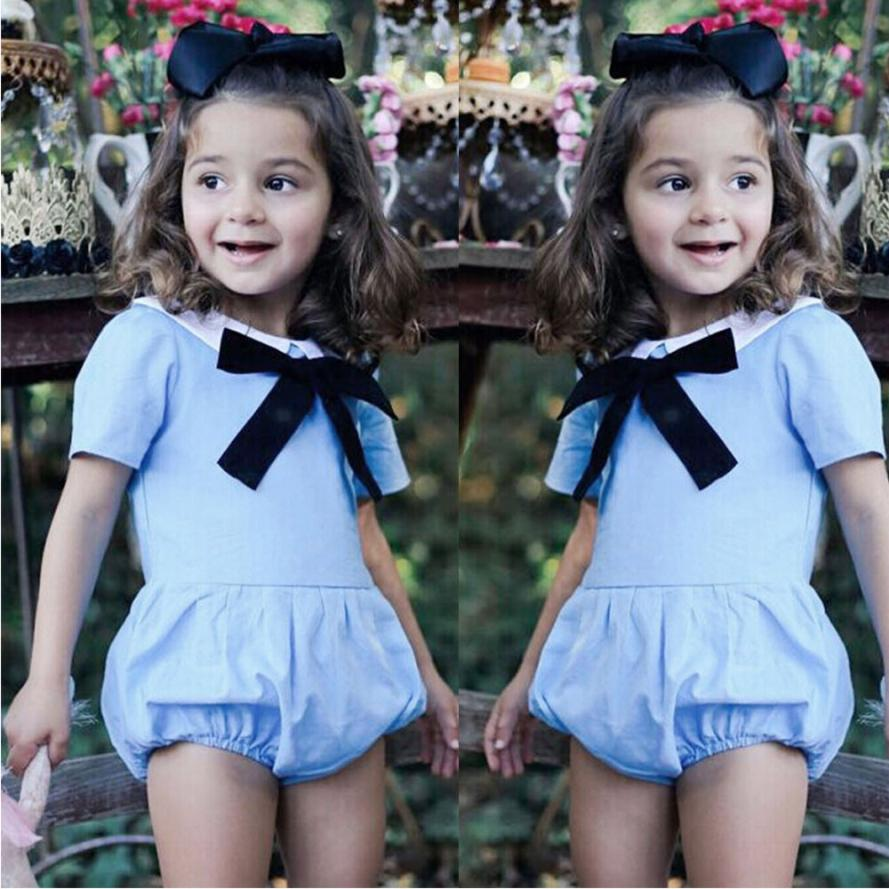 TELOTUNY 2018 FASHION Toddler Baby Girl Short Sleeve Romper Jumpsuit Clothes Outfits Princess Costume ZY30