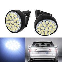50Pcs 3157 DC 12V T25 P27W 1206 3020 22SMD Car LED Brake Light Turn Lamp Parking Stop Lights 22 SMD Auto Source Head Lamp