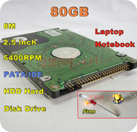 2 5 HDD IDE PATA Ide 80GB 80g 5400rpm Ide 8m Internal Hard Disk Drive For