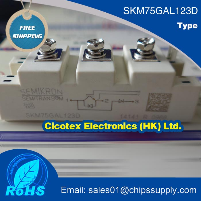 SKM75GAL123D MODULE IGBTSKM75GAL123D MODULE IGBT