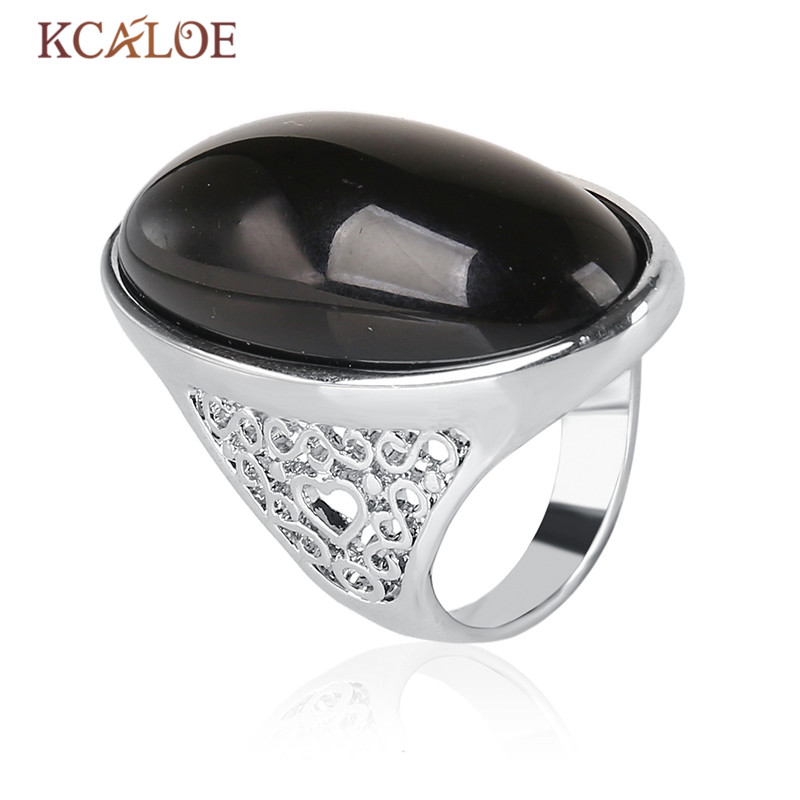 K's Gadgets Fashion Hollow Design Silver Color Black And Green - Fashion Jewelry - Photo 5