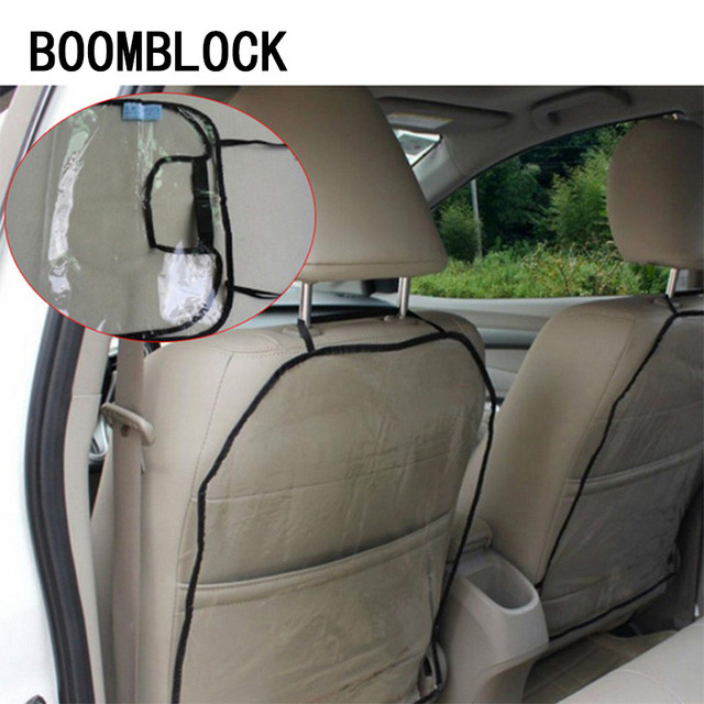 Pvc Car Seat Back Protector Cover Anti Kick Mat For Mercedes W204