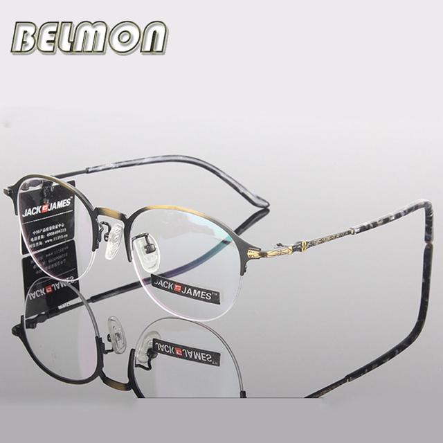 Moda Óculos de Armação Mulheres Homens Computador Miopia Olho Óculos Armação de óculos Óptica Para As Mulheres Lente Clara das RS256 Feminino Masculino