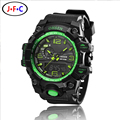 NEW Fashion OHSEN Sports Brand Watch Men's Digital Shock Resistant Quartz Alarm Wristwatches Outdoor Military LED Casual Watches