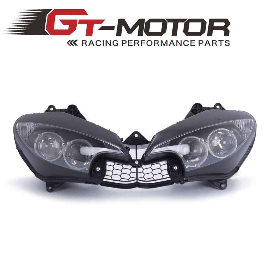 GT Motor -Headlight For YAMAHA YZF-R6 YZFR6 2003 2004 2005 03 04 05 Motorcycle Front Head Light Headlamp Assembly