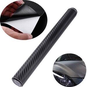 30cm*127cm DIY 3D Carbon Fiber Vinyl Car Wrap Sheet Roll Film Car Styling Motorcycle Car Stickers Decal Car Accessories A20(China)