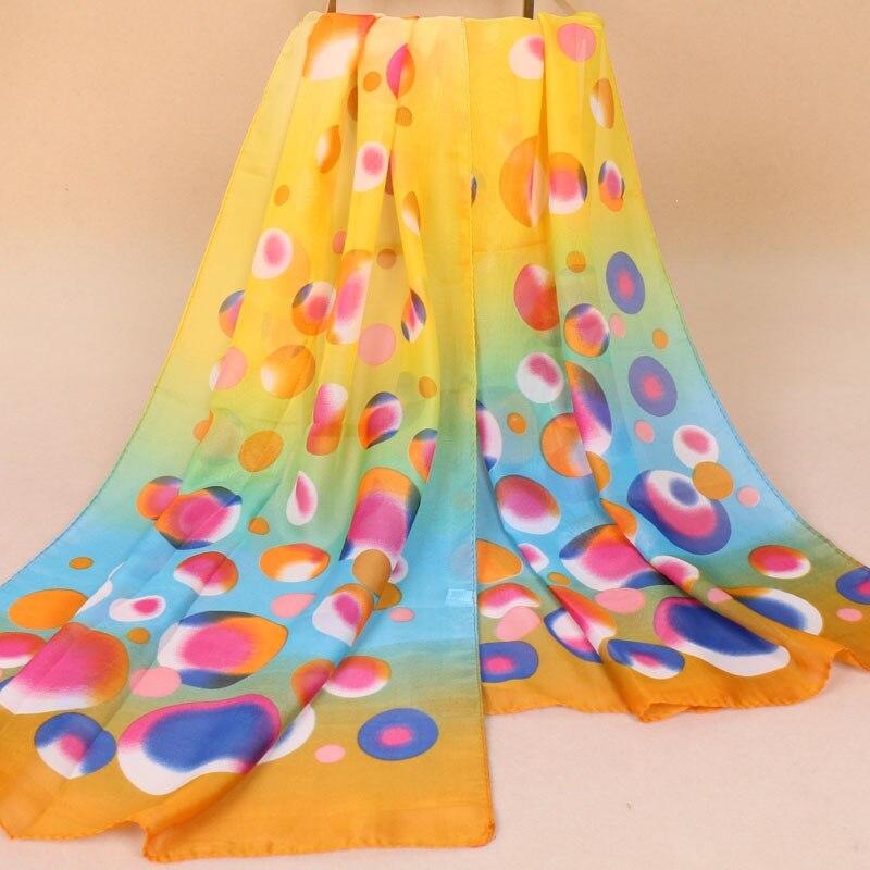 women long chiffon shawls femme fashion summer bubble polka dots beach sarong scarf echarpes shawl pareo cheap hotsale in Women 39 s Scarves from Apparel Accessories