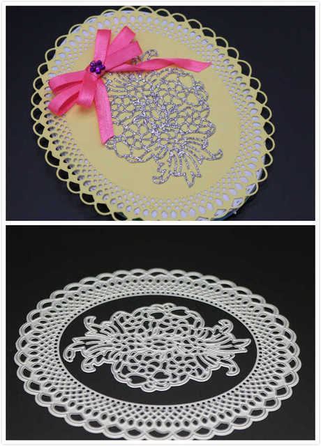 115x132cm Lace Frame Metal Cutting Dies Scrapbooking Dies Metal
