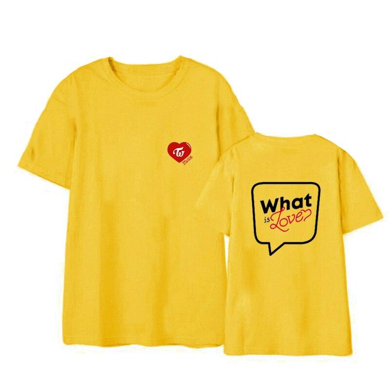 TWICE What is Love concert unisex T shirt short sleeve men T-shirt for summer woman tshirt (3)