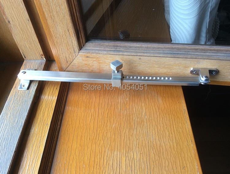 лучшая цена Steel window glass window wind brace wind stopper stainless steel sliding bracket strut locator household hardware