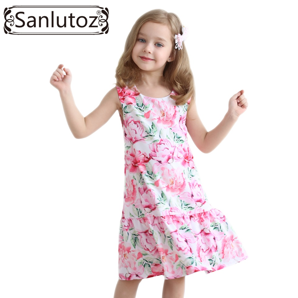 Aliexpress.com : Buy Sanlutoz Girls Dress Children ...