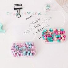 Пачка креативная красочная карта Tacks нажимные булавки настенные доски объявлений Thumb Tacks декоративные для пробковой доски для дома и офиса H0317