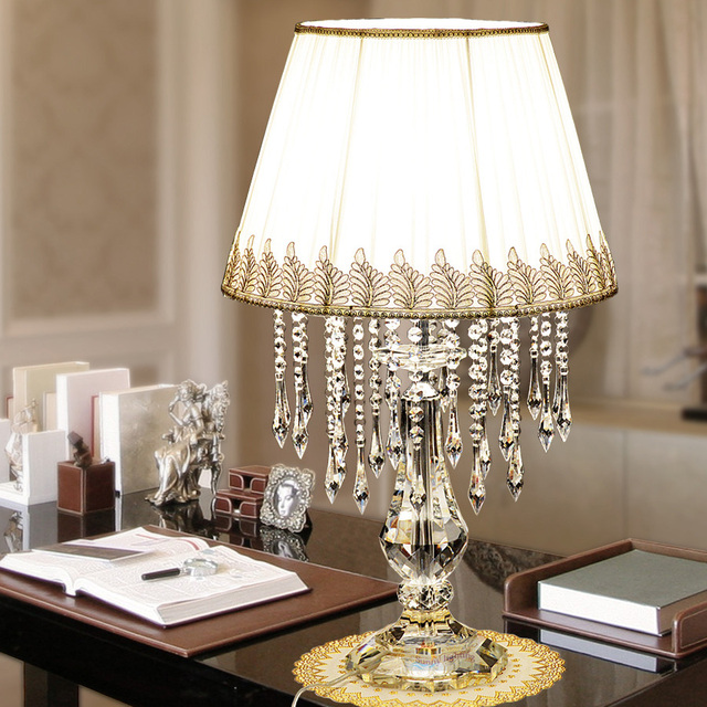 Office LED Work Table Lamps With Large Lampshade Boss Table Reading - Large office work table