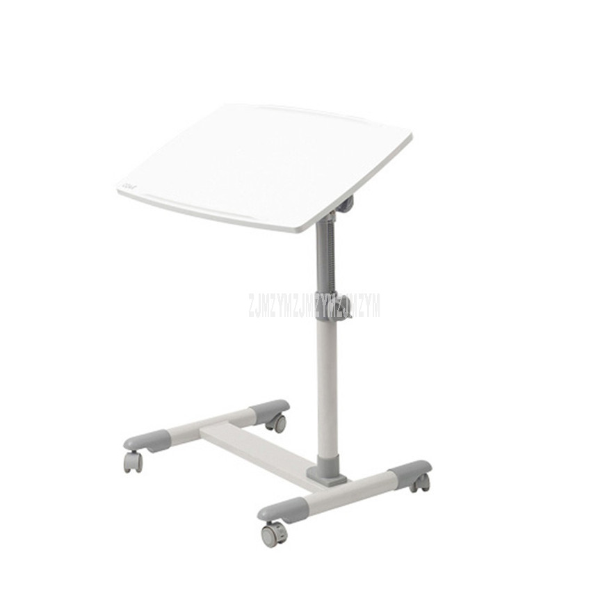 AA-9T Mordern Desktop Rotatable Height Adjustable Sofa Bed Side Table For Laptop Desk Computer Notebook Movable With 4 Wheel