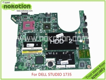 laptop motherboard for dell studio 1735 CN-0H274K H274K PM965 ATI HD3650 DDR3