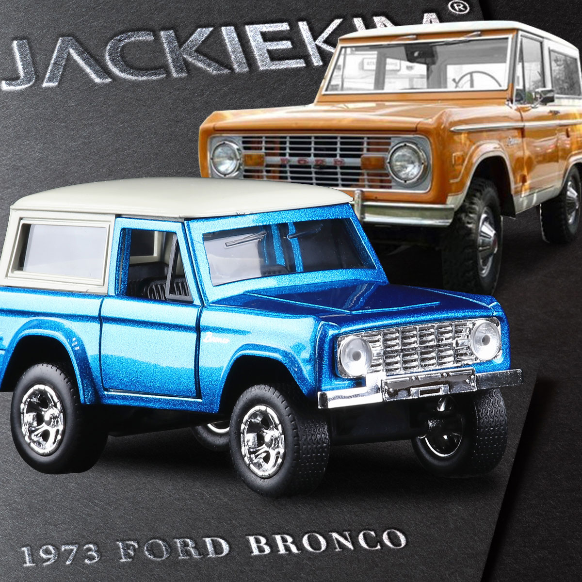 Jada 1 32 scale high simulation alloy model car ford 1973 bronco quality toy models free shipping