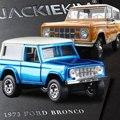 Jada escala 1:32 alta simulación de aleación modelo de coche, 1973 ford bronco, modelos de juguetes de calidad, envío libre