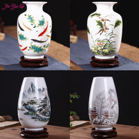 JIA GUI LUO Traditional Chinese Vase for Wedding Decoration Living Room Decoration Home Decoration Accessories Modern C028