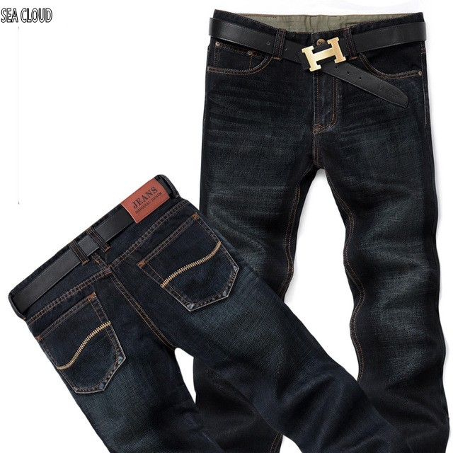 Sea Cloud Free shipping 2017 male jeans men straight military pants loose plus size casual trousers casual pants weight 140 kg free shipping autumn and winter male straight plus size trousers loose thick pants extra large men s jeans for weight 160kg