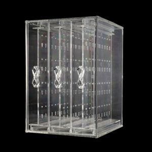 Image 2 - Ücretsiz kargo 200 delik küpe çıtçıt kolye takı vitrin rafı standı organizatör tutucu depolama