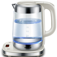High borosilicate glass electric kettle electric kettle 1.7 liter capacity