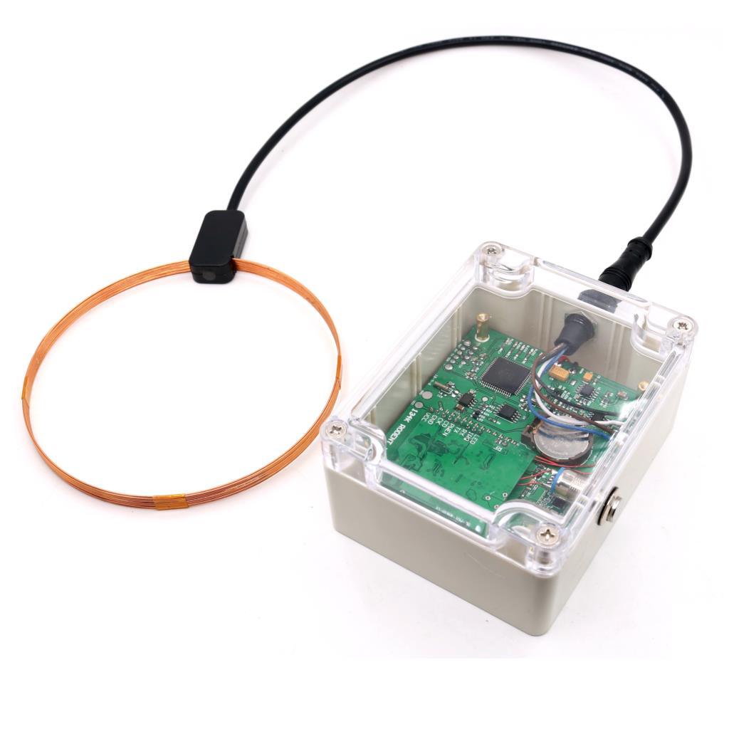 RFID 134.2Khz Waterproof FDX-B Bluetooth Offline Animal Label Tag Track Recorder With Timeline 60,000 Log Memory