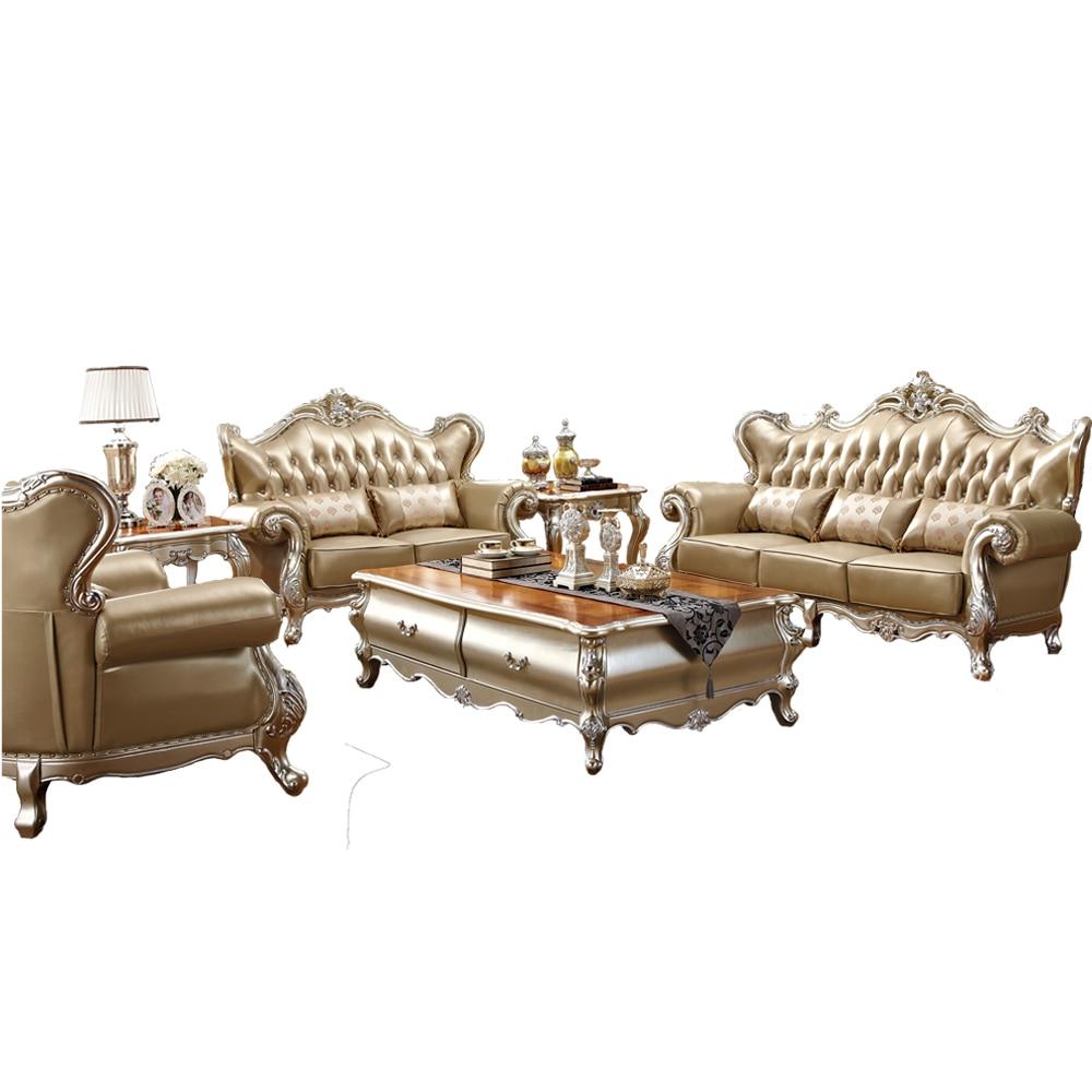 Hot Selling Italian Design Leather Antique Sofa