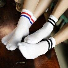 Пары хлопчатобумажные оптовые повседневная носки новые мужские женщины